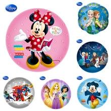 Birthday Princess Minnie Mickey Foil Balloons Birthday Party Decoration Birthday Baby Shower Birthday Balloon кольцо orxi birthday 2010001330