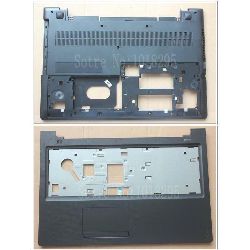 NEW for Lenovo 300-15ISK 300-15 Laptop Palmrest Touchpad Upper Case + Bottom Case Cover