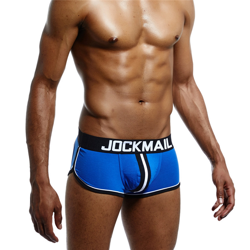 The Best Jockmail Sexy Men Underwear Boxer Men Back Open Hole Men Boxer Underpants Cotton Trunks Boxer Shorts Male Panties Gay Underwear Back To Search Resultsunderwear & Sleepwears Men's Underwear