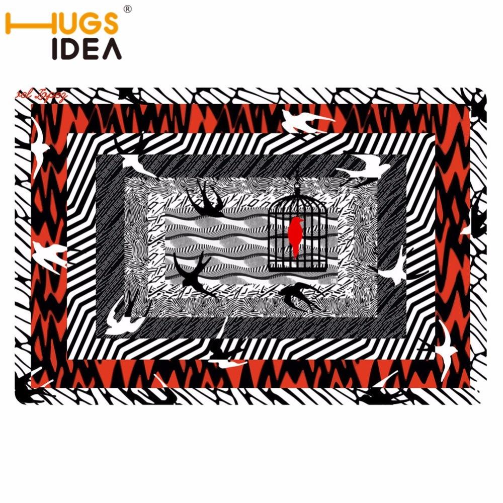 AliExpress HUGSIDEA 40*60 cm wejście dywany śmieszne gumowe