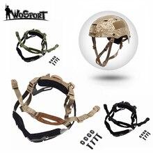 Военный Тактический шлем аксессуар для быстрого шлема Регулируемый ремень страйкбол Пейнтбол шлем общая подвеска система блокировки