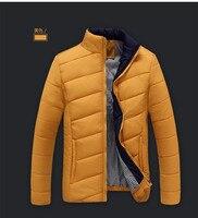 Chine pas cher en gros 2017 automne hiver nouveaux hommes de mode casual col montant en coton rembourré veste de survêtement hommes vêtements