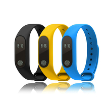 Le. spire M2 Pantalla OLED IP67 Impermeable Heart Rate Monitor Podómetro Smartwatch Impermeable Pulsera Bluetooth Pulsera Inteligente