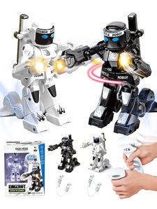Combat-Toys Boxer Remote-Control-Robot Intelligent Robot Battle Kids Box-Light RC