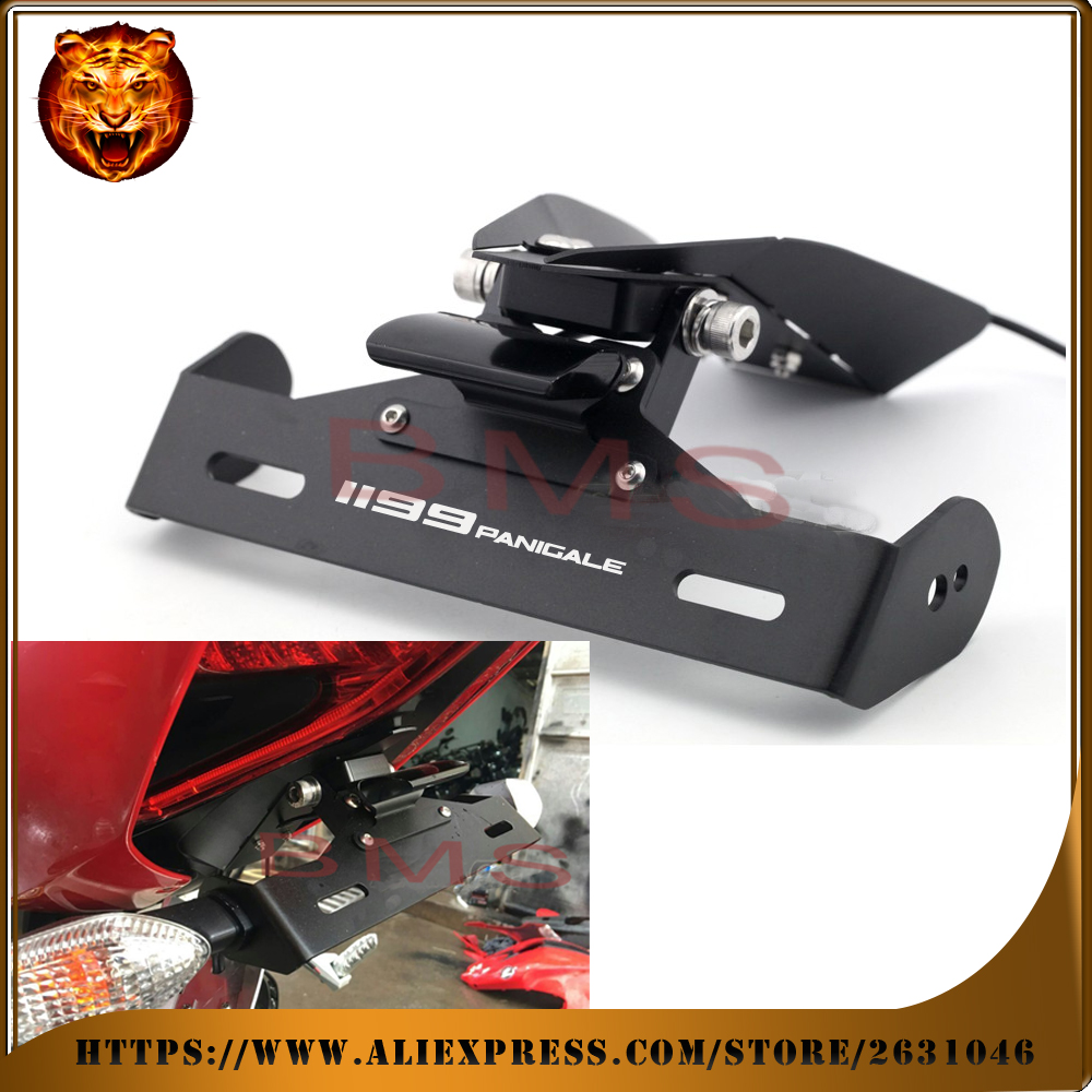 Motorcycle Led License Plate Light