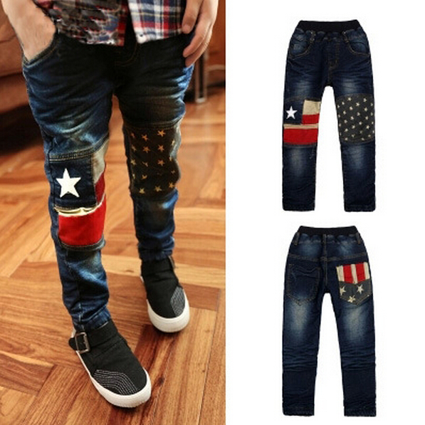 Online Shop New fashion children casual jeans spring baby boys ...