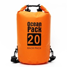 20L 30L Outdoor PVC Waterproof Dry Bag Ocean Pack Backpack For Swimming Swim Water Proof Impermeable River Trekking Bag facecozy swimming river trekking dry bags waterproof pvc ocean pack 2l 30l multifunctional outdoor drifting beach backpack