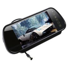 7 Inch Car Mirror Monitor 16 9 TFT LCD Widescreen Car Rearview Mirror Monitor with Touch