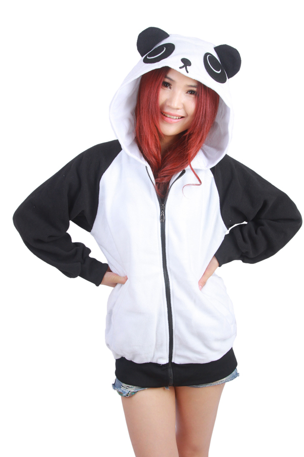 Wow!!! Bebas biaya kirim! Jepang Lucu Kostum Cina Panda Telinga Wajah - Pakaian Wanita - Foto 1