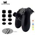 8 STUKS Siliconen Analoge ThumbStick Joystick Grips Voor PS3/PS4 Thumb Grip Voor Sony Playstation 4 PS4 Pro Slim vervangende Onderdelen