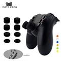 8 piezas de silicona analógico ThumbStick Joystick empuñaduras para PS3/PS4 pulgar para Sony Playstation 4 PS4 Pro Slim piezas de repuesto
