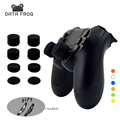 8 pz Silicone Analogico ThumbStick Joystick Grip Per PS3/PS4 Thumb Grip Per Sony Playstation 4 PS4 Pro Sottile parti di ricambio