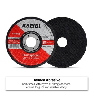Metal Cutting Disc for Angle Grinder Stainless Steel Cut Off Wheel Fiber Cutter Reinforced Resin Blade 100/115/125/180/230 mm
