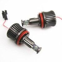 2Pcs H8 LED 20W Blue Angel Eye Light Halo Rings High Power Bulbs Error Free Fit For BMW E92 M3 X5 X6 Z4 ect