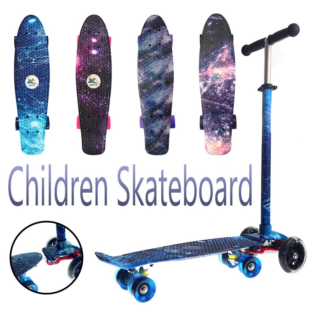 2018 New Starboard Pattern Skateboard Cruiser Skateboard Extreme Sports Drifting Fish Skateboard Scooter For Children