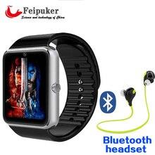 Reloj inteligente Reloj GT08 Con Ranura Para Tarjeta Sim Empuje Mensaje Conectividad Bluetooth Teléfono Android Mejor Que Smartwatch DZ09 GT08