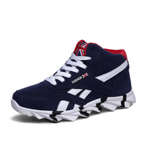 Hot Large size Fashion Winter Men Shoes Comfortable sneakers Solid Boots Inside Antiskid Bottom Keep Waterproof Ski Shoes