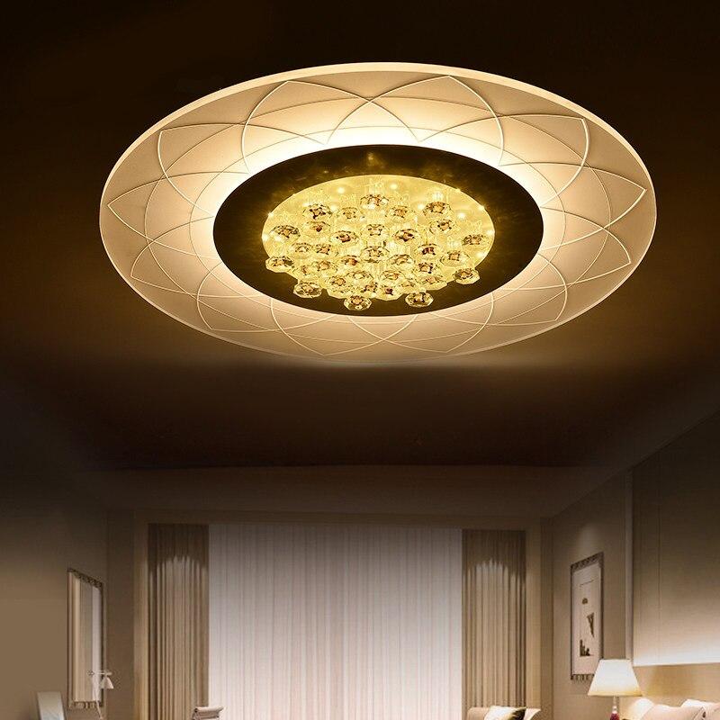 Ecolight Modern Led Ceiling Light Ceiling Lamp Wall Sconce For Living Room Home Ultra Thin Led Flush Mount 90-260V 1500Lumen