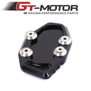 Image 1 - GT Motor Motorcycle CNC Side Stand Vergroten Kickstand voor YAMAHA R3