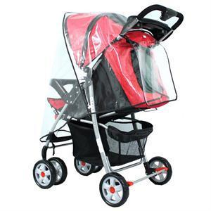 CR Popular Universal Baby Cart Rain Wind Cover Trend Plastic Baby Stroller Cover RC