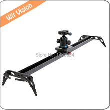 110cm Video Camera Track Slider Dolly Stabilizer System for DSLR and Camcorders with Carry Bag