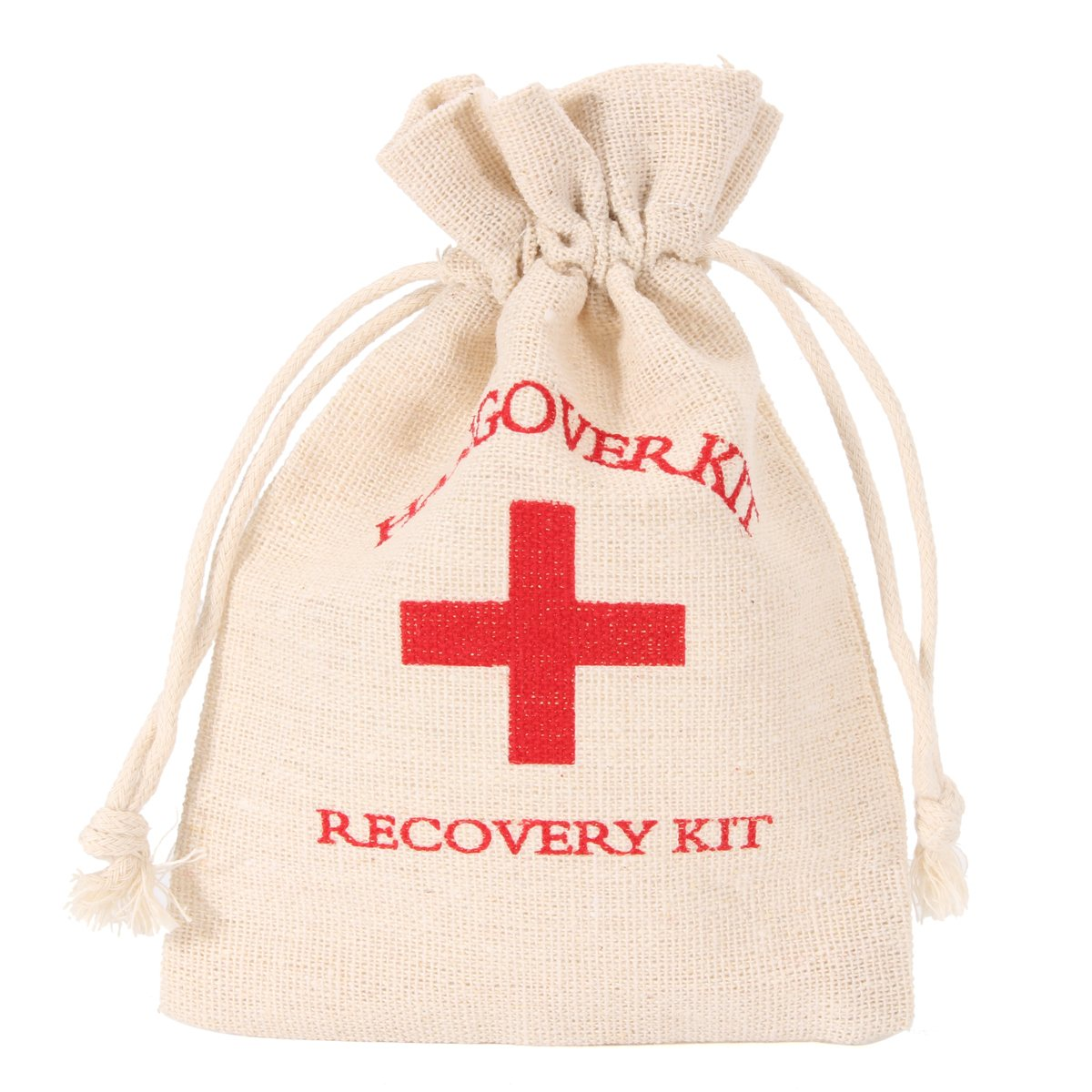 NEW Safurance 10pcs Set Hangover Survival Kit Cotton Linen Bags First Aid Party Storage Supply Emergency Kits kitcox70427fao4001 value kit first aid only inc alcohol cleansing pads fao4001 and glad forceflex tall kitchen drawstring bags cox70427