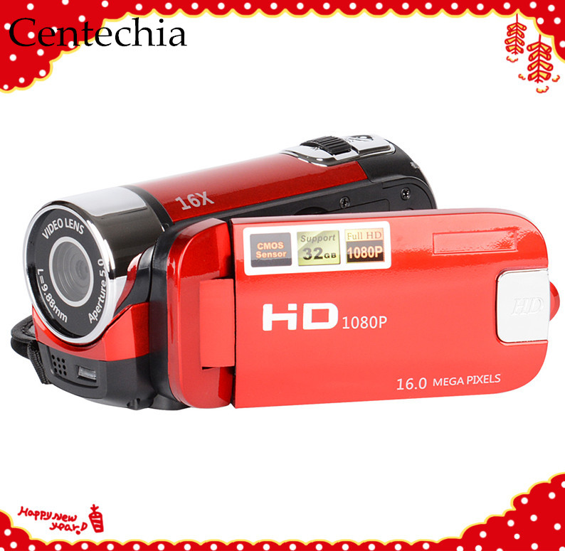 2 Colors Outdoor High-definition Digital Camera Video Camera Camcorder 2.7 Inch TFT Smile Capture Anti-shake For Home Travel
