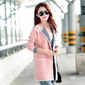 Long slim winter coat women sweater cardigan women cardigan bodycon sweter mujer chaquetas manteau femme casaco feminino