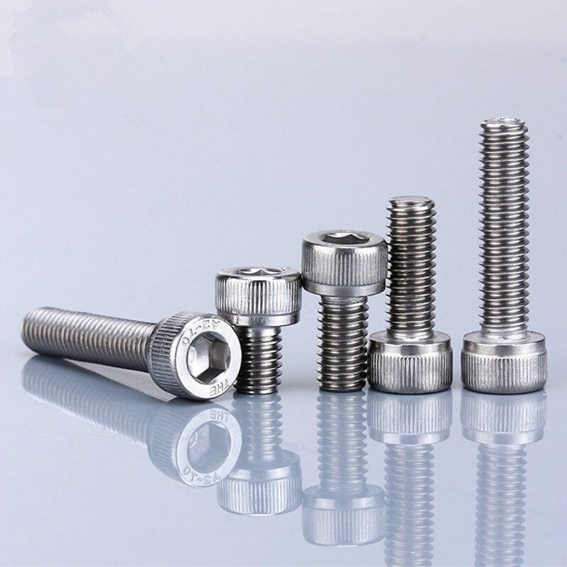 5PCS, UNC 1/4-28, Cheap Stainless Steel 304 Hexagon Hex Socket Countersunk Head Cap Screws Supplier