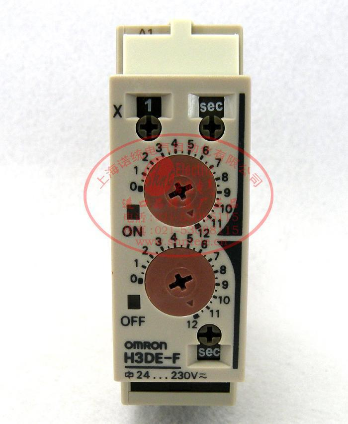 Free Shipping 1pcs/lot Original time relay cycle delay H3DE-F 24-240VAC / DC free shipping 1pcs lot original time relay multifunction adjustable h3yn 4