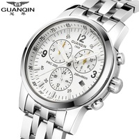 GUANQIN Brand Men Watches Man Luminous Waterproof Mechanical Wristwatches Analog Sport Luxury Clock Army Military Hour Best Gift