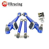 VR Racing Store FRONT LOWER CONTROL ARM FOR NISSAN S13 Adj Front Lower Control Arm Blue