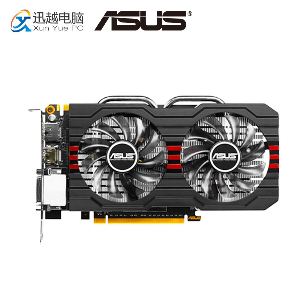 ASUS GTX660-DC2OCPH-2GD5 Original Graphics Cards 192 Bit GTX 660 2G GDDR5 Video Card VGA 2*DVI DP For Nvidia Geforce GTX660