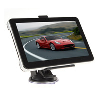 New 7 Inch Car GPS Navigation 8G ROM Navigator Europe Map With Sunshade High Sensitive GPS