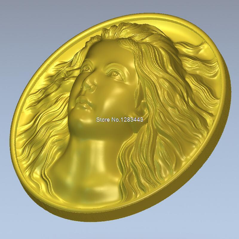 High Quality New 3D Model For Cnc 3D Carved Figure Sculpture Machine In STL File The Beauty_2