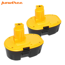 Powtree 3500mAh 18V For Dewalt DC9096 NI-MH Rechargeable Battery DE9039 DE9095 DE9096 DC020 DC212 DC212B