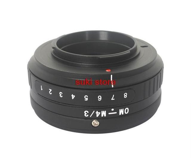 Om-m4/3 adaptador de inclinación para olympus om montaje de la lente para micro 4/3 adaptador de montaje m43 para olympus panasonic