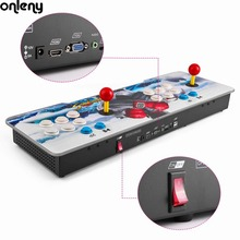 Onleny 800 in 1 Family Box with Dual Joystick Professional Multi-game HD Home Game Machine Colorful Dragon Pattern