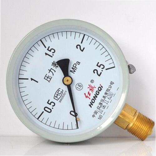 Y <font><b>Series</b></font> General Pressure <font><b>Gauge</b></font> Hydraulic Oil <font><b>Air</b></font> Pressure <font><b>Gauge</b></font> Y-150 0-60Mpa