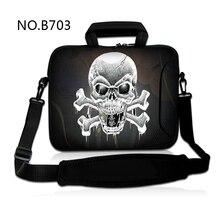 Sizzling Cranium Laptop computer Shoulder Bag Neoprene Transportable Sleeve Case Pc Purse For 10 10.6 11.6 12 13 13.three 15 15.6 inch Mini PC