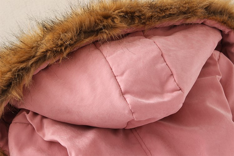 HTB1HIvBXh rK1RkHFqDq6yJAFXaI 2019 Winter New Women's Hooded Fur Collar Waist And Velvet Thick Warm Long Cotton Coat Jacket Coat
