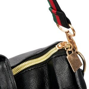 Image 5 - ผู้หญิงแฟชั่นStreet Solidกันน้ำซิปกระเป๋าสะพายกระเป๋าเป้สะพายหลังผู้หญิงหญิงCasual Travelกระเป๋าเป้สะพายหลังหนังPU