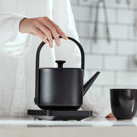 New Simple Design Electric Tea Kettle Water Boiler 600ML Capacity 1200W Fast Boiling Coffee Pot with Handle Automatic Power off
