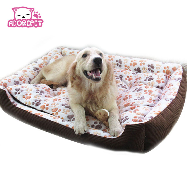 Small Large Dog Sofa Bed House Kennel Winter Warm Fleece Pet Cat Nest