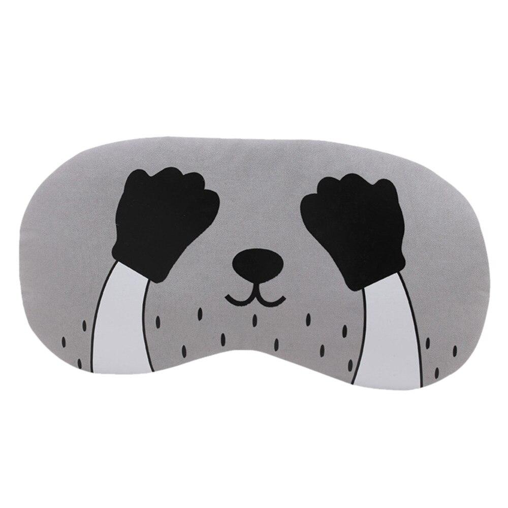 3d Cartoon Katze Schattierung Brille Auge Maske Weichen Polyester Atmungsaktive Gepolsterte Reise Schlafen Augenbinde Werkzeuge Schlaf Schatten Abdeckung