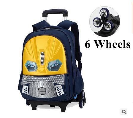 โรงเรียนกระเป๋าเป้สะพายหลังสำหรับโรงเรียนเด็กรถเข็นกระเป๋าเป้สะพายหลังกระเป๋าเป้สะพายหลังกระเป๋าเป้สะพายหลังเด็กกระเป๋าเด็กโรงเรียนกระเป๋าล้อ-ใน กระเป๋านักเรียน จาก สัมภาระและกระเป๋า บน   3