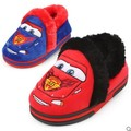 Children in winter to keep warm cotton slippers boy baby slippers soft bottom shoes at home