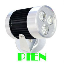 3W outdoor led spot light waterproof foco led exterior reflector floodlight for garden 110V 240V Free shipping 2pcs