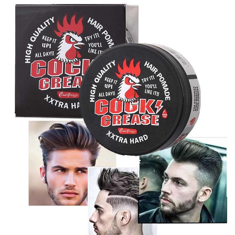 73228a97ed7 Strong Hold Hair Clay 80G Long-lasting Hair wax pomade Matte Hairstyle Oil  Product for