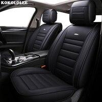KOKOLOLEE auto PU leather car seat cover set for Volkswagen PASSAT b5, b6, b7,b8 TIGUAN Polo SANTANA Gran Lavida CROSS Lamando